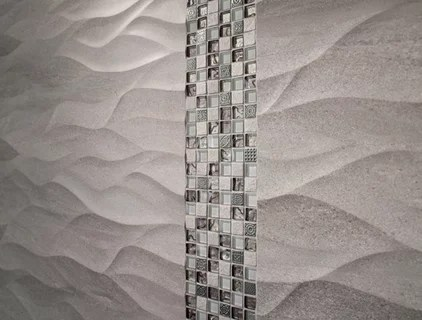 modern bathroom tile by Porcelanosa USA