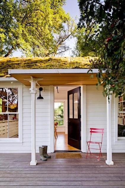 Farmhouse Porch by Jessica Helgerson Interior Design