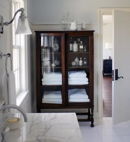 traditional bathroom by Christopher Burns Interiors