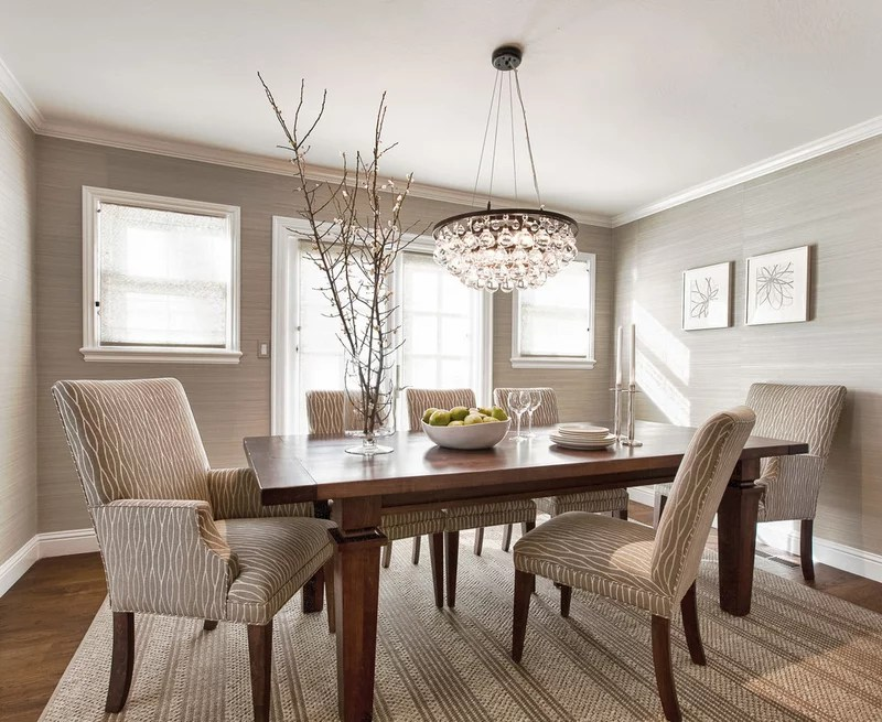 contemporary dining room by Kriste Michelini Interiors