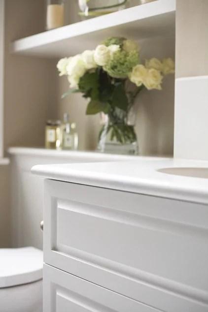 Traditional Bathroom by Laura Hammett Ltd