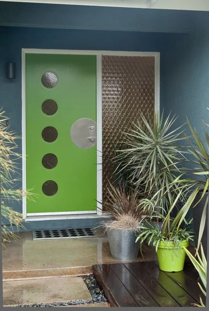 modern exterior by Kropat Interior Design