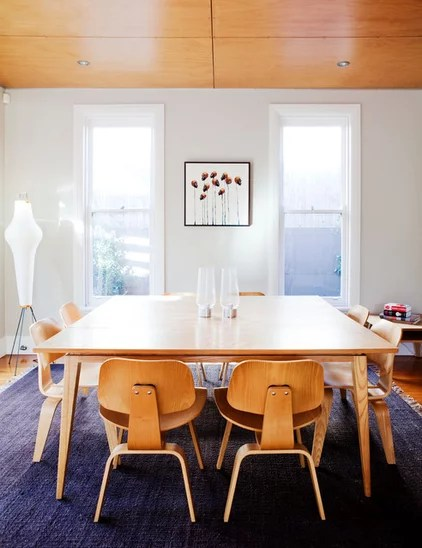 Midcentury Dining Room by Alwill Interiors