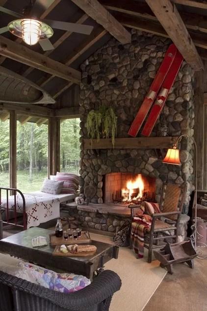 eclectic porch by Michelle Fries, BeDe Design, LLC