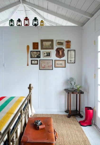 rustic bedroom by Tereasa Style