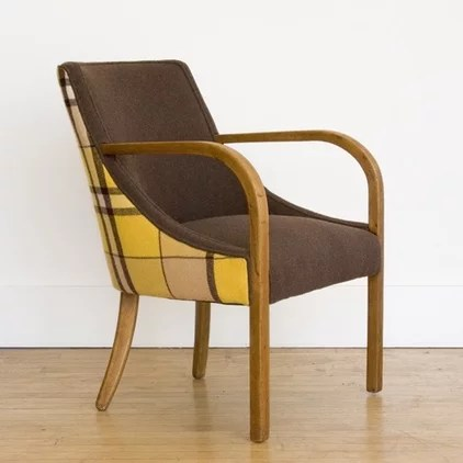 contemporary armchairs by Nube Green