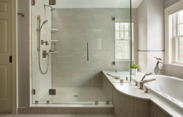 Contemporary Bathroom by Thomas Buckborough & Associates