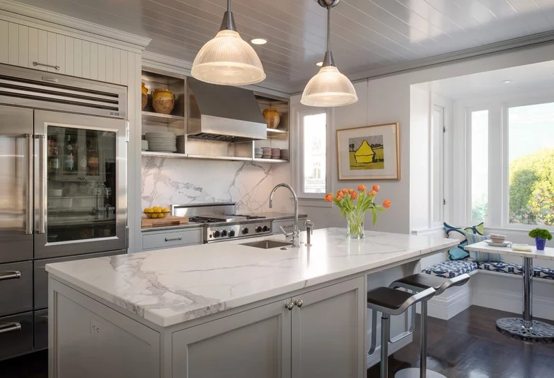 Transitional Kitchen by Sutro Architects