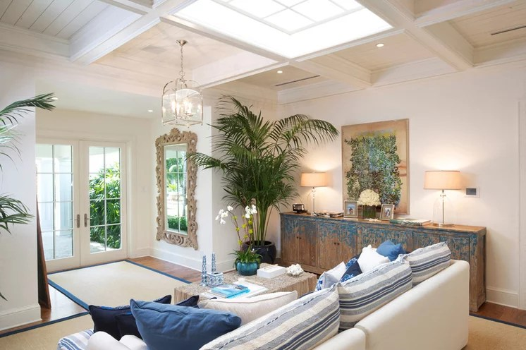 Beach Style Living Room by Bon Vivant