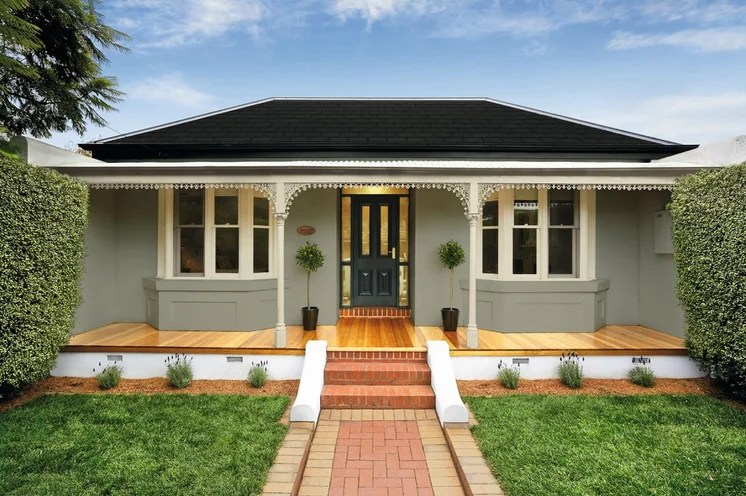 Traditional Exterior by Haymes Paint