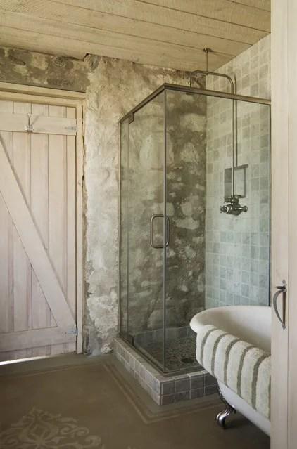 10 Ways to Get the Modern Rustic Farmhouse Look on Rustic Farmhouse Bathroom Tile  id=95736