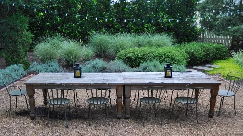 rustic patio by Bruce Clodfelter and Associates