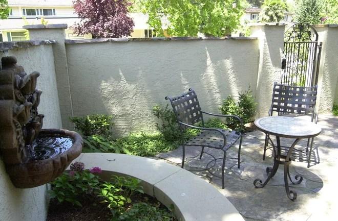traditional patio by Van De Voorde Elemental Design Group