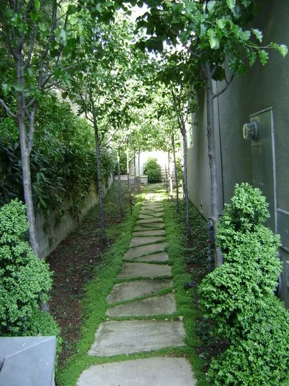 Traditional Landscape by Frank & Grossman Landscape ... on Side Yard Walkway Ideas  id=50836