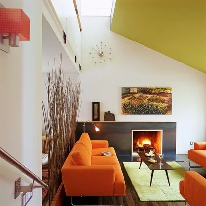 modern living room by COLEPREVOST