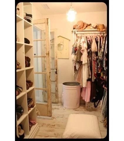 traditional closet Vintage Closet