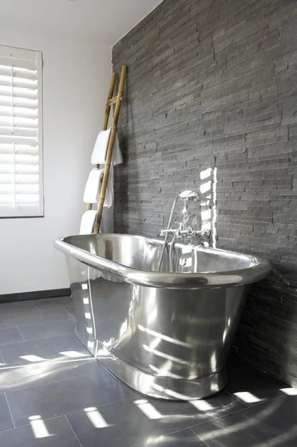 Contemporary Bathroom by Anne Webster Designs Pty Ltd