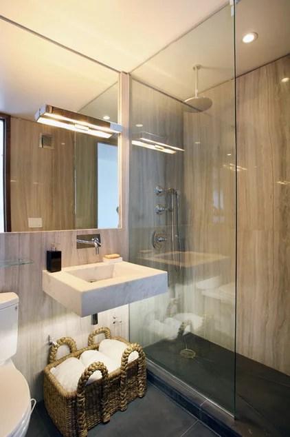 contemporary bathroom by Caroline Bass Citi Habitats