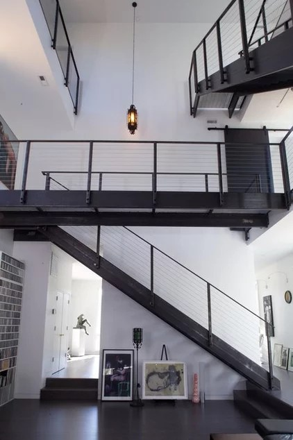 modern staircase by Tonic Design + Tonic Construction