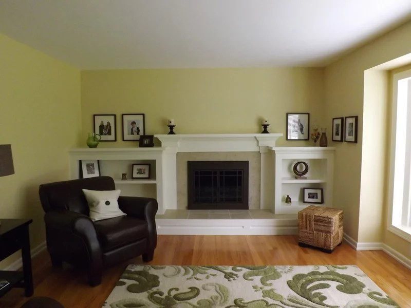 traditional living room by Fireplace Kitchen n Bath