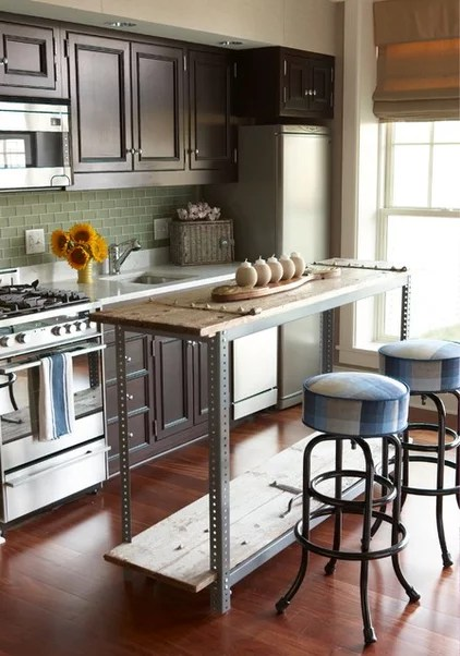 eclectic kitchen by Tiger Lily's Greenwich