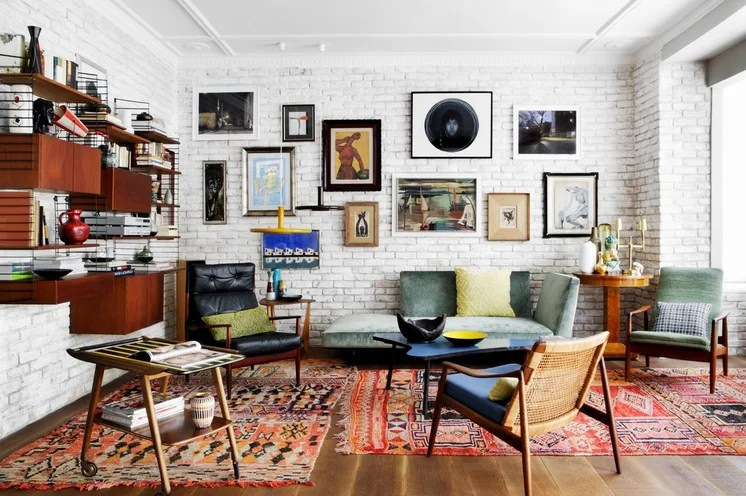 Eclectic Living Room by mikel irastorza