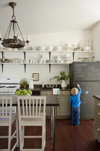 eclectic kitchen by Lauren Liess Interiors