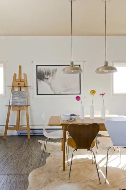 Eclectic Dining Room by Envi Interior Design Studio