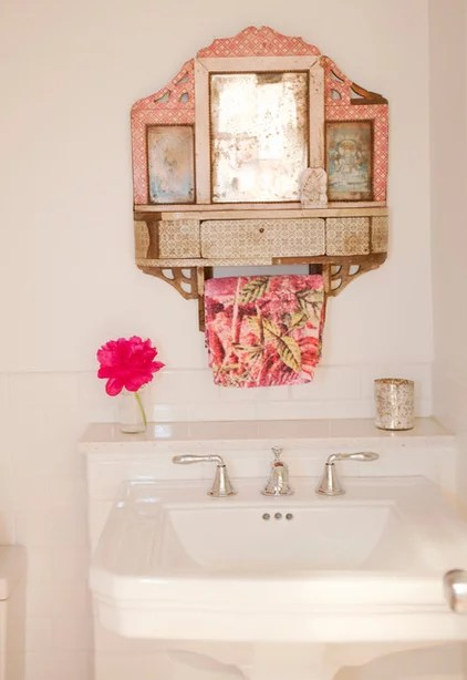 eclectic bathroom by The Cross Design