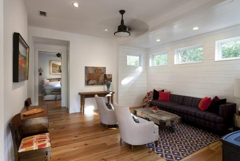 farmhouse living room by Rauser Design
