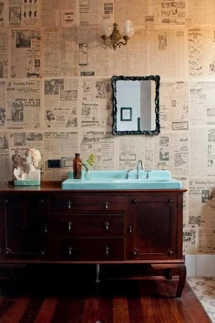 Eclectic Bathroom by Etica Studio