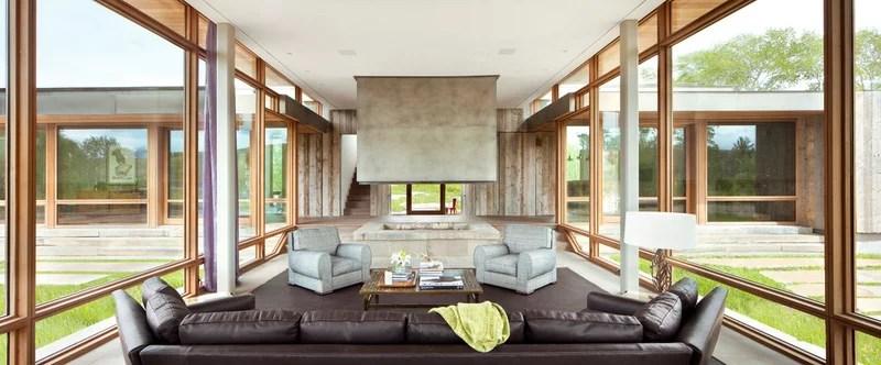 Modern Living Room by Montana Reclaimed Lumber Co.