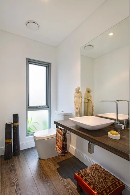 Contemporary Bathroom by Capital Building