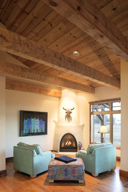 Southwestern Living Room by Giulietti Schouten Architects