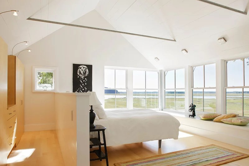 modern bedroom by Estes/Twombly Architects, Inc.