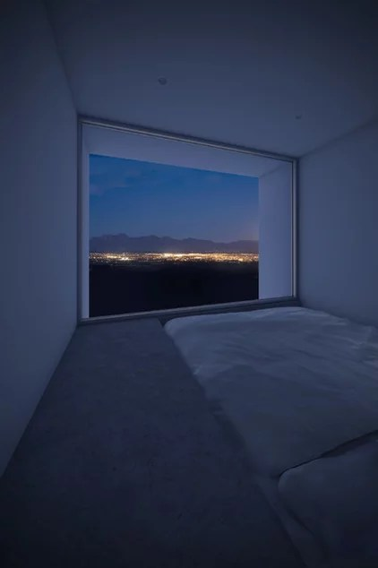 modern bedroom by Edward Ogosta Architecture