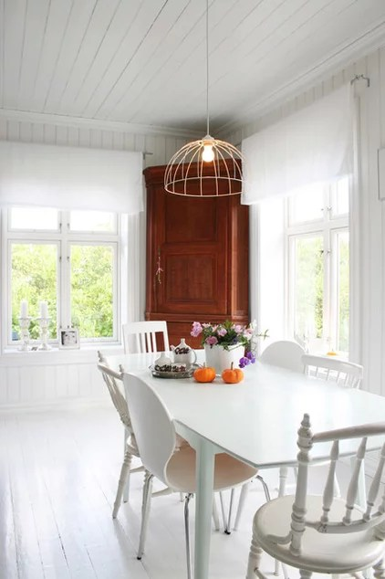 eclectic dining room by Jeanette Lunde
