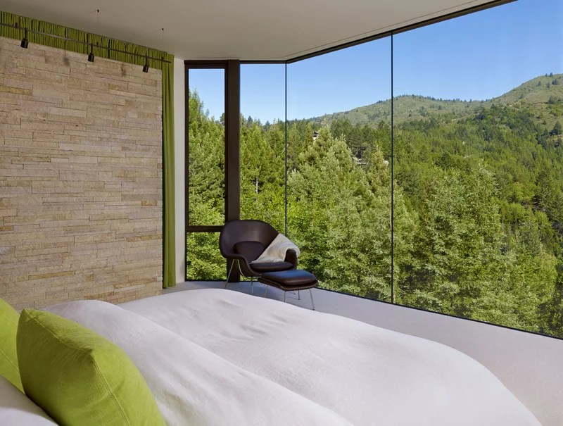 contemporary bedroom by C Wright Design
