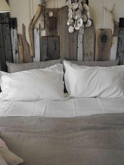Rustic Bedroom by Rough Linen