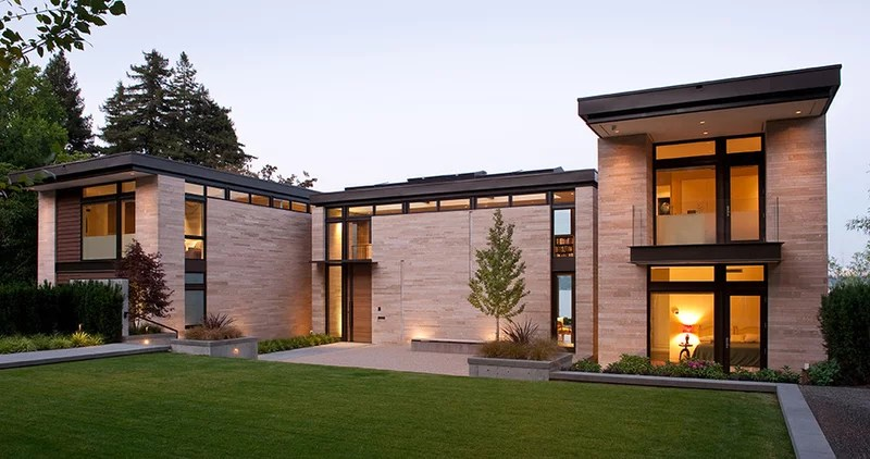 Contemporary Exterior by Stuart Silk Architects | Limited PS