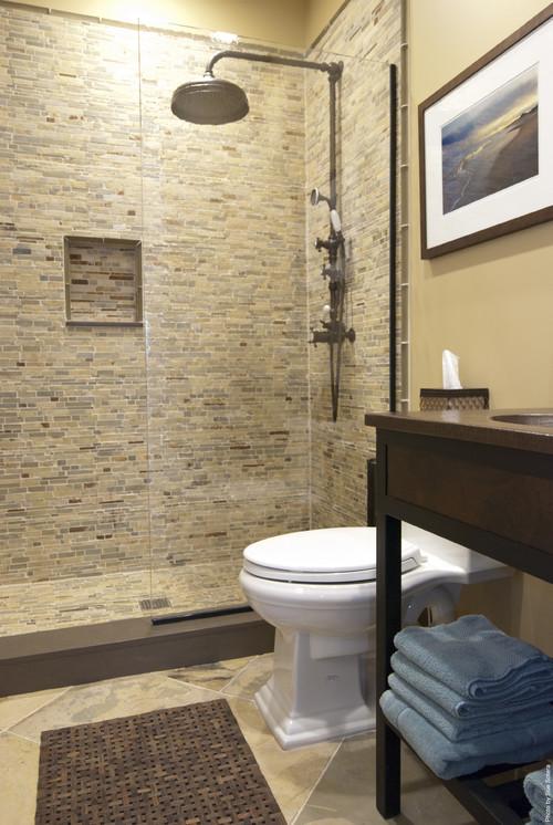 South Shore Residence contemporary bathroom