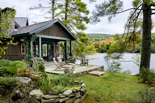 Lake House traditional exterior