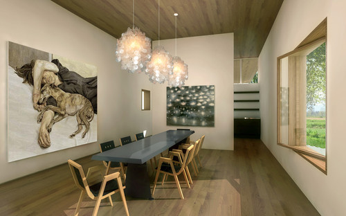 axis mundi modern dining room