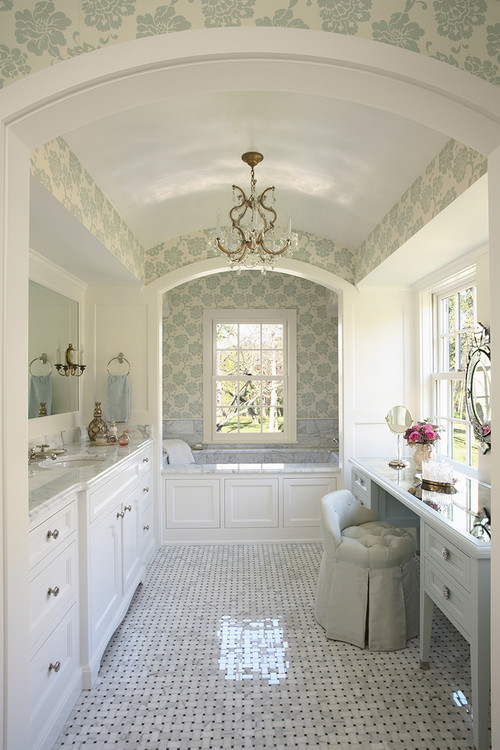 Orono Residence traditional bathroom