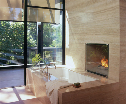 William Hefner Architecture modern bathroom