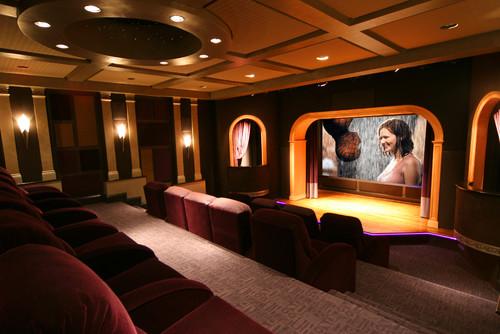 ...  media room