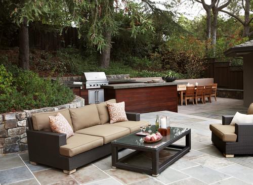 Dining Space contemporary patio