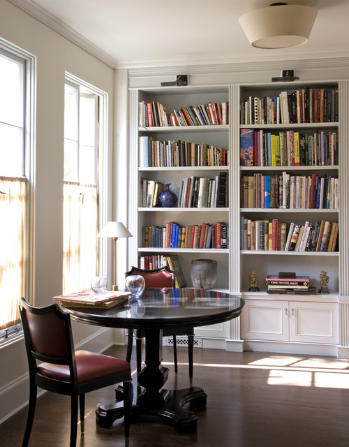 William Hefner Architecture Interiors & Landscape traditional home office