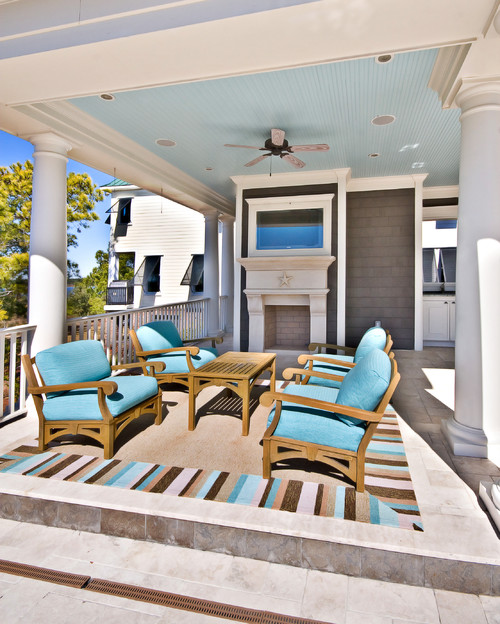 My top rules for perfect porches color calling Rules for painting ceilings
