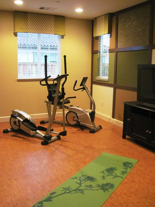 Whats the best color for a workout room? color calling